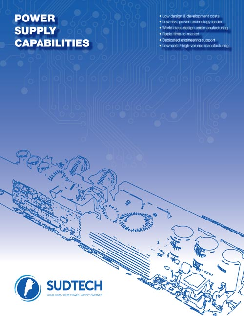 8 Page Products / Capabilities Design